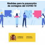 Guía sobre las medidas para la prevención de contagios por COVID-19